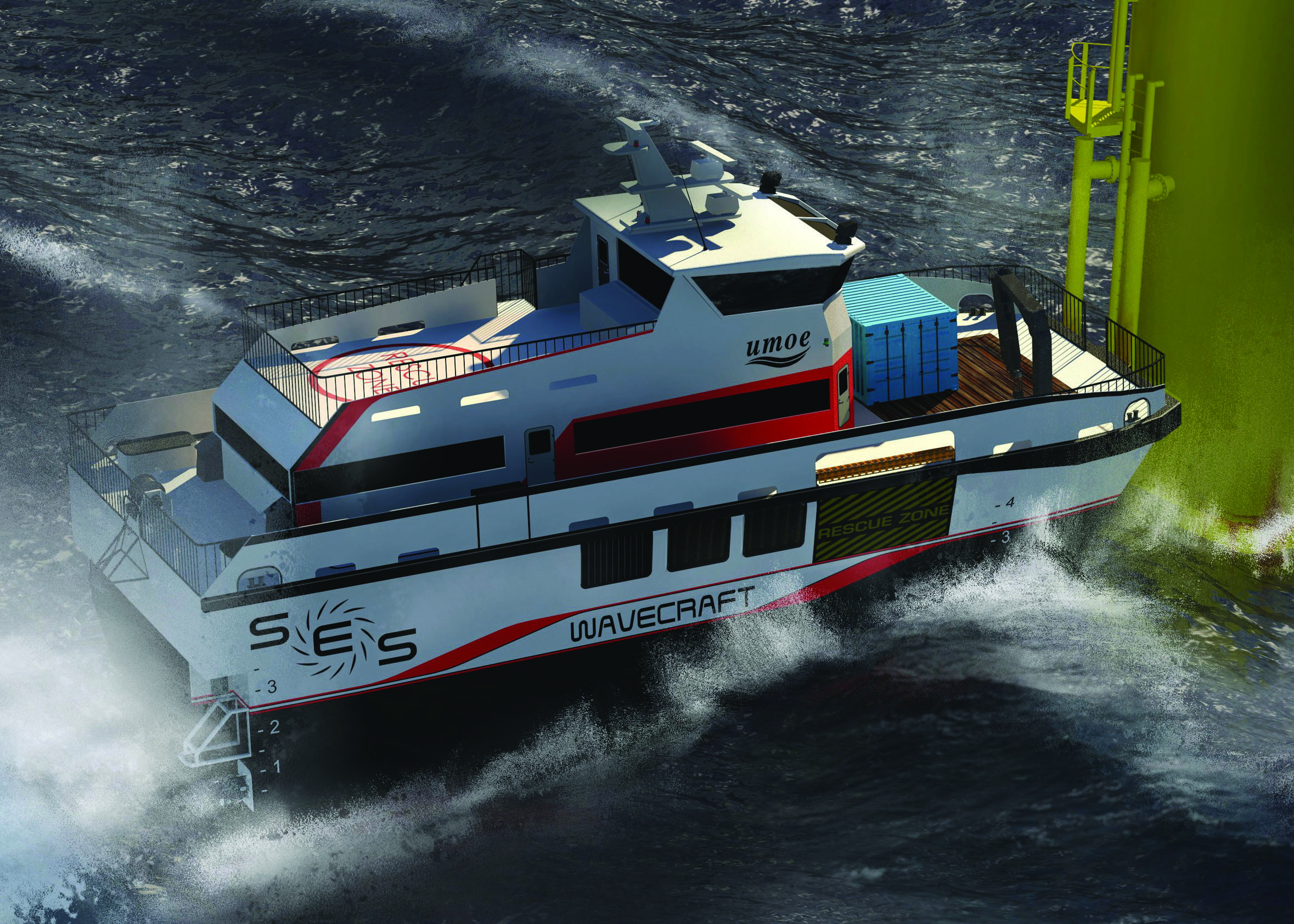 CFE Delivers Skirts for New Surface Effect Ship